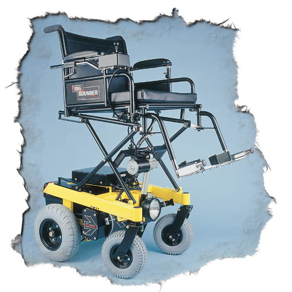 BOUNDER Plus H-Frame with 13 inch seat elevator