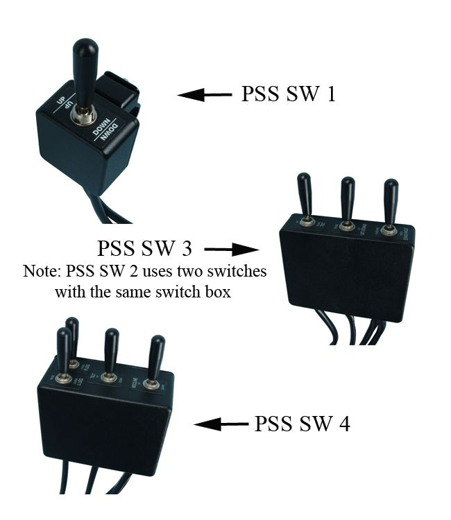 Power Seating Switch Boxes